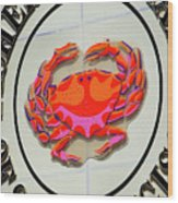Fisherman's Wharf Wood Print
