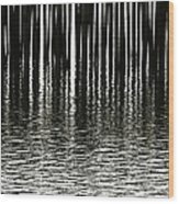 Fishermans Wharf Provincetown Wood Print