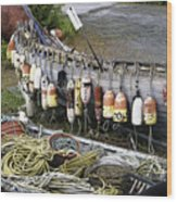 Fishermen's Supplies Wood Print