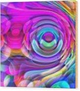 Fisheye3mlv Wood Print