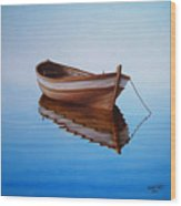 Fishing Boat I Wood Print by Horacio Cardozo