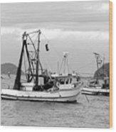 Fishing Boats At Pearl Beach 1.2 Wood Print