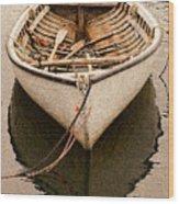 Fishing Dorry Wood Print
