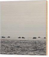 Fishing Paradise  Wood Print