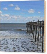 Fishing Pier 1 Wood Print