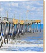 Fishing Pier 4 Wood Print