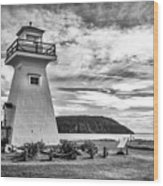 Five Islands Lighthouse Wood Print
