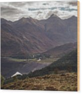 Five Sisters Of Kintail Wood Print