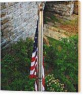 Flag Day Wood Print