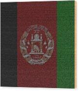 Flag Of Afghanistan Wood Print