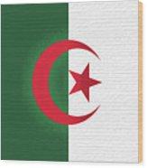 Flag Of Algeria Wall. Wood Print