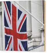 Flag Of Great Britain  Wood Print