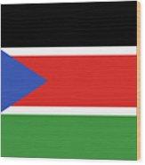 Flag Of  South Sudan  Wood Print