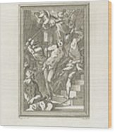 Flagellation Of A Saint Wood Print