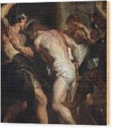 Flagellation Of Christ 2 Peter Paul Rubens Wood Print