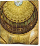 Flagler College Rotunda II Wood Print