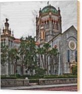 Flagler Memorial Presbyterian Church 2 Wood Print