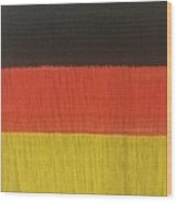 Flags Of The World - Germany 15-r12 Wood Print