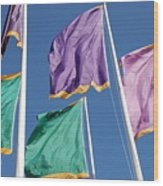 Flags Wood Print