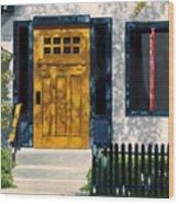 Flagstaff Bungalow Wood Print