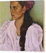 Flamenca Wood Print