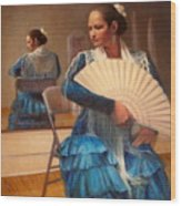 Flamenco 1 Wood Print
