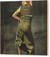 Flamenco #21 - Attitude Wood Print