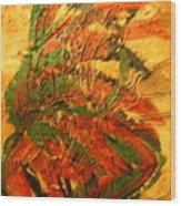 Flamenco Flame - Tile Wood Print
