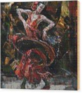 Flamenco II Wood Print