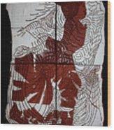 Flamenco Lady 4 Wood Print