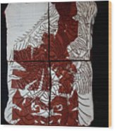 Flamenco Lady One  Wood Print