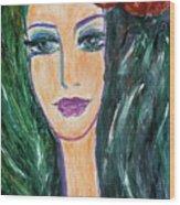 Flamenco Nights - Madalena Wood Print