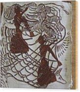 Flamenco Passion 1 Wood Print