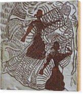 Flamenco Passion 3 Wood Print