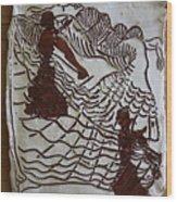 Flamenco Passion 4 Wood Print
