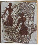 Flamenco Passion 5 Wood Print