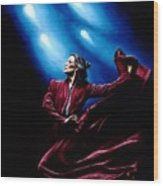 Flamenco Performance Wood Print by Richard Young