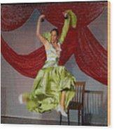 Flamenco Show Nr 2 Wood Print
