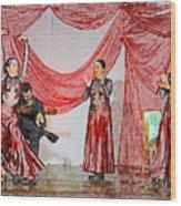 Flamenco Show Nr 4 Wood Print