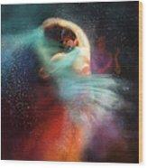 Flamencoscape 02 Wood Print