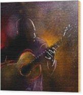 Flamencoscape 14 Wood Print