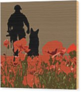 Flanders Fields 11 Wood Print