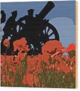 Flanders Fields 4 Wood Print