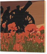 Flanders Fields 1 Wood Print