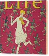Flapper Cover, 1926 Wood Print