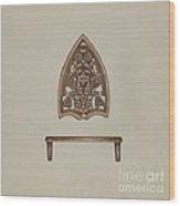 Flat Iron Holder Wood Print