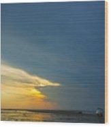 Flats Of Brewster, Cape Cod Wood Print