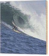 Flea On A Mavericks Giant Wood Print