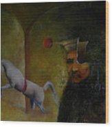 Flemish Surrealism Wood Print
