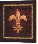 Fleur De Lys-king Charles Vii Wood Print